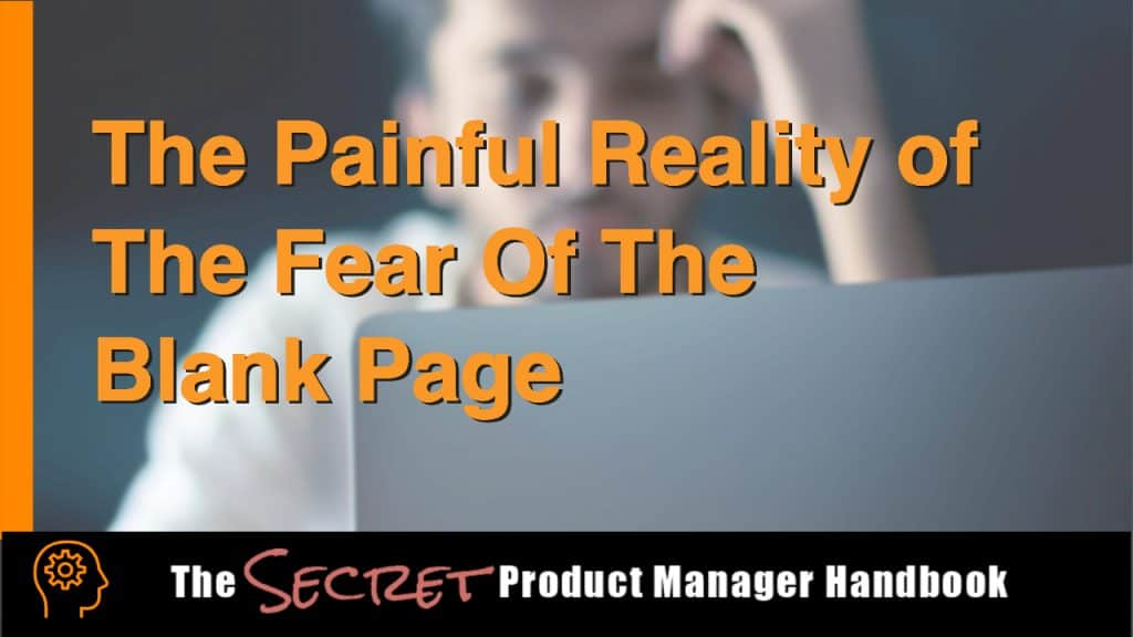 The Painful Reality of The Fear Of The Blank Page